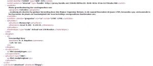 EAD / XML, Archiefinventaris 4.VEL, inventarisnummer 979