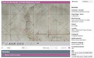 Kaart van den Noorder- en Zuider Atlantischen Oceaan, Archiefinventaris 4.VEL, Inventarisnummer 979
