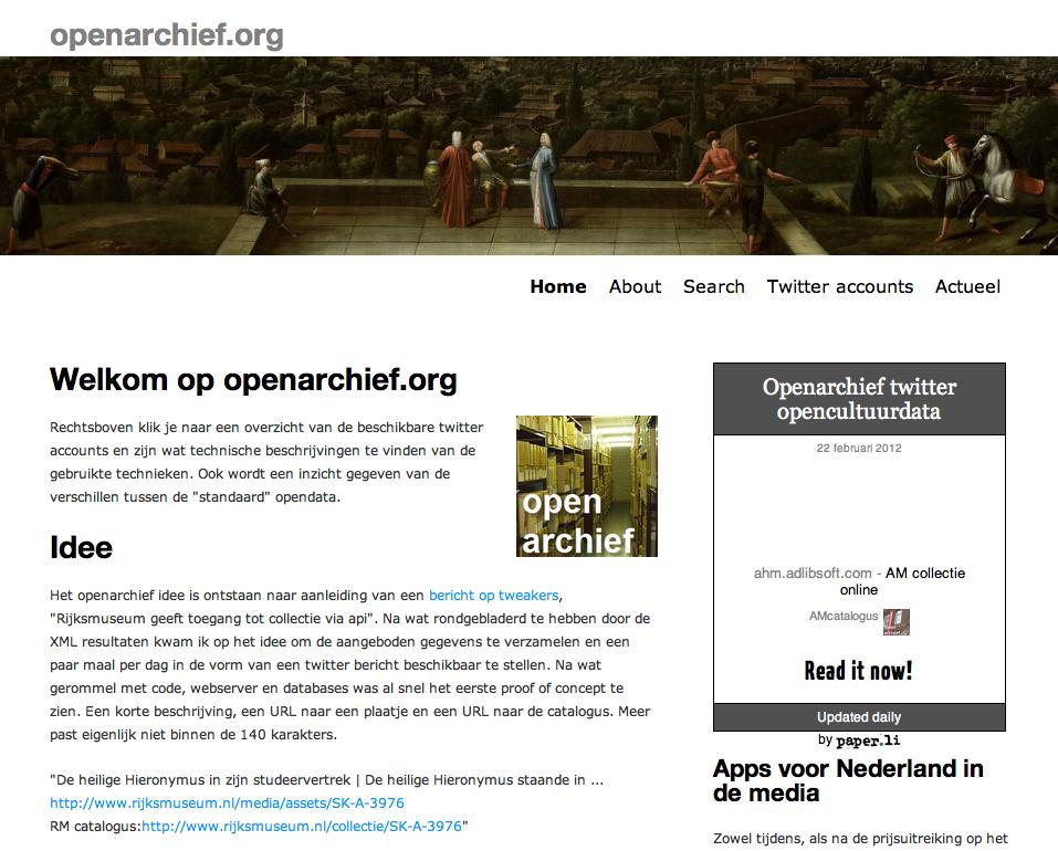openarchief