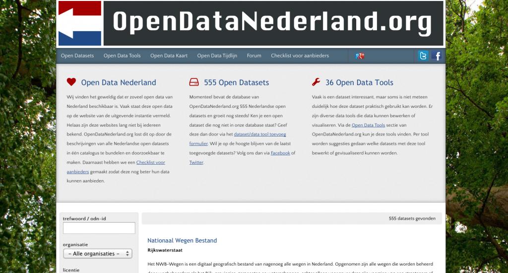 Open Data Nederland