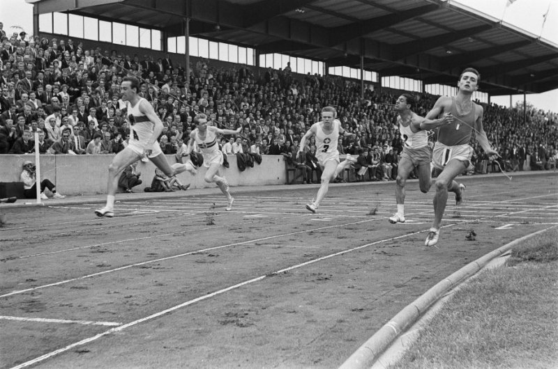 Finish 100m